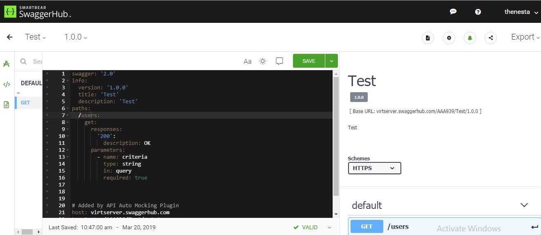 สร้าง API Design and Document ด้วย Swagger Codegen ผลลัพธ์